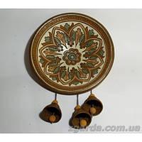 Тарелка керамическая с орнаментом