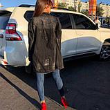 Женская джинсовая куртка Woox  (кардиган) удлиненная , фото 5