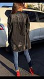 Женская джинсовая куртка Woox  (кардиган) удлиненная , фото 2