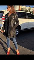 Женская джинсовая куртка Woox  (кардиган) удлиненная , фото 1