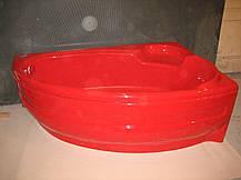 Акриловая ванна Bisante Виктория 1700х1100х580 (Правая), фото 3
