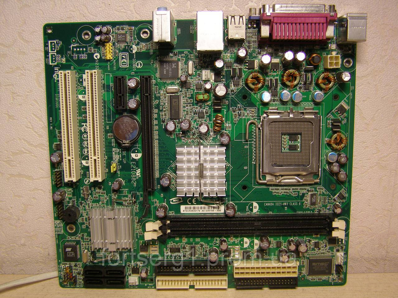 DRIVERS FOR INTEL MOTHERBOARD D101GGC