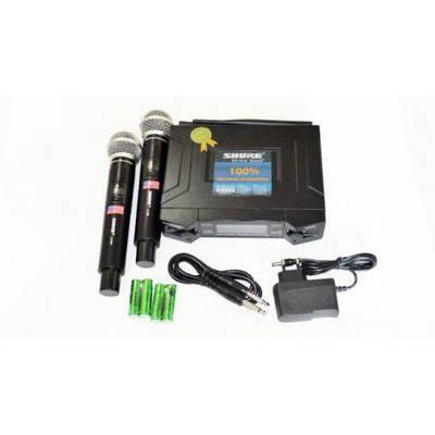 Микрофон SHURE UHF UK90 Радиосистема два беспроводных микрофона