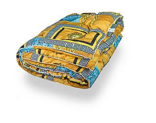 Одеяло закрытое овечья шерсть (Поликоттон) Двуспальное 180х210 51029