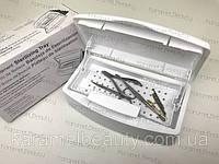 R201800018 Контейнер для стерилизации маникюрных инструментов Sterilizing Tray 500 мл. Белый, фото 1