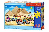 Пазлы Castorland   60шт (066018) 32*23 см (Пирамиды), фото 1