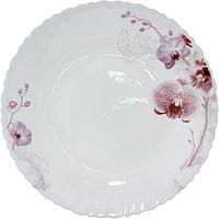 Тарелка 25 см Розовая орхидея SNT 30072-61099