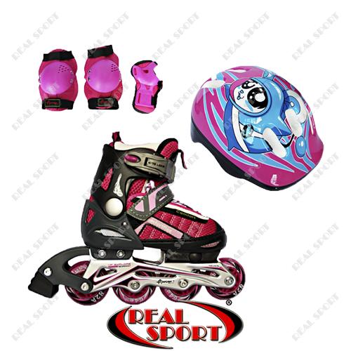 Роликовые коньки для детей Comfortflex Combo Amigo Sport, XS