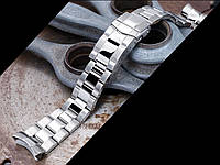 22мм Super Oyster 316L стальной браслет для Seiko SKX007, SKX009, SKX011. Глянец/мат., фото 1