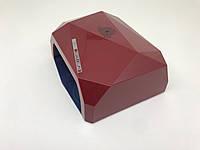 R201800494 Лампа для маникюра Global Fashion Diamond  36Вт Красная, фото 1