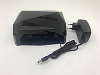 R201800496 Лампа для маникюра Diamond  36Вт Черная, фото 1