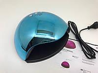 R201800514 Лампа для маникюра Nail Lamp Powerful 48Вт Голубая, фото 1