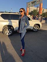 Женская удлиненная джинсовая куртка Hepyek  , фото 3
