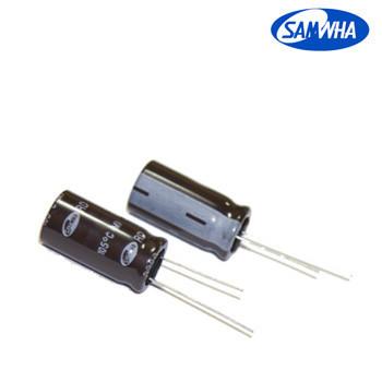 820mkf - 16v  RD 10*16  SAMWHA, 105°C конденсатор електролітичний