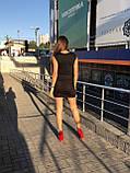 Чорна джинсова спідниця на гудзиках спереду it's basic код 1155, фото 2