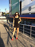 Чорна джинсова спідниця на гудзиках спереду it's basic код 1155, фото 3
