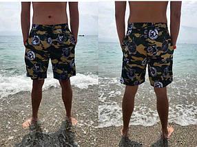 "Короткие мужские шорты на резинке ""MILITARY"" с карманами, фото 3"