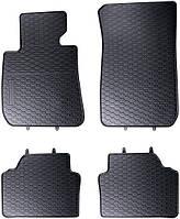 Коврики в салон резиновые BMW 3 E90-91-92-93 (04–12) (4шт.)