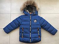 Куртка зимняя на мальчика 104 размер орел, фото 1