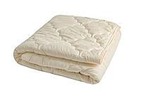 Одеяло закрытое однотонное бамбуковое волокно прессованное (Микрофибра) Полуторное T-34806