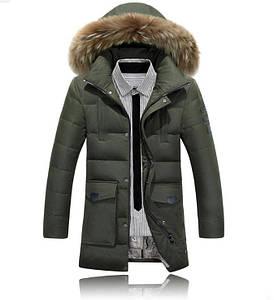 """Куртка-пуховик парку чоловіча зимова """"AFS JEEP"""""""