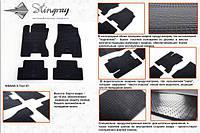 Резиновые коврики (4 шт, Stingray Premium) - Nissan X-trail T31 2007-2014 гг.