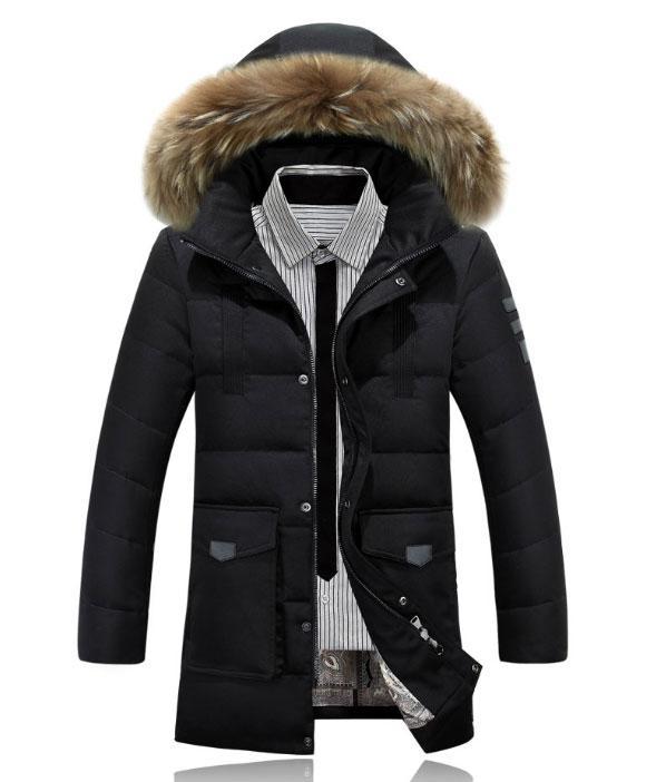 859c27d6ad303 Куртка-пуховик парка мужская зимняя