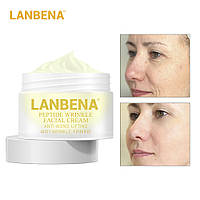 Антивозрастной крем для лица на основе пептидного комплекса Peptide Wrinkle Facial Cream, фото 1