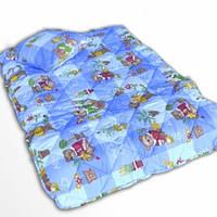 Детское закрытое силиконовое одеяло 110x140 с подушкой 50х50 T-54800