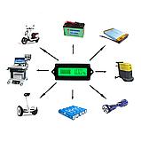 Индикатор уровня заряда аккумулятора врезной ЖКИ, зеленый, фото 3