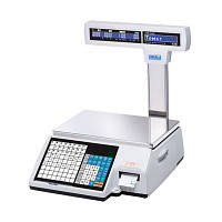 Весы электронные торговые фасовочные CAS CL5000J-06IP с термопечатью
