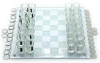 Набор игровой (шахматы с рюмками, шашки, карты)