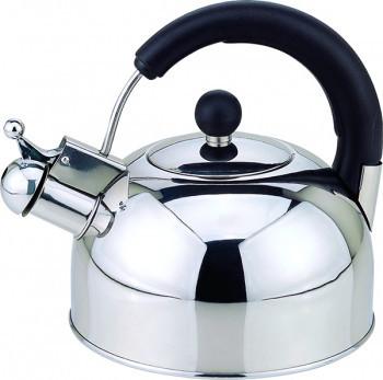 Чайник со свистком на 2,5 л Con Brio CB-402-S