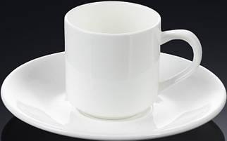 Чашка WILMAX кофейная с блюдцем 90 мл. WL-993007
