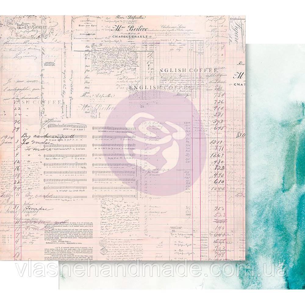 Папір двосторонній - The Untold Story - Misty Rose - Prima Marketing 30x30