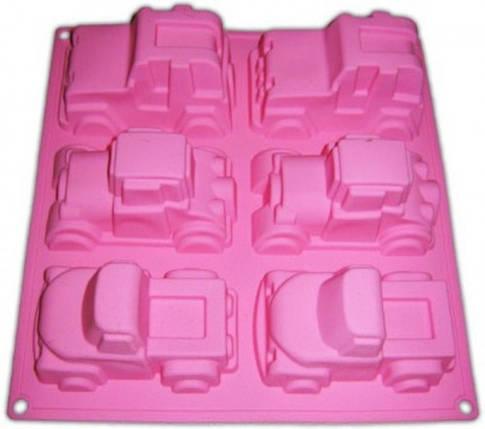 Форма для выпечки Машинки 6 шт 33*24,5*5см Empire, фото 2