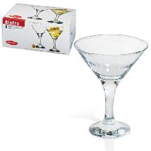 Бокалы для мартини 6 шт Pasabahce Bistro 44410, фото 2