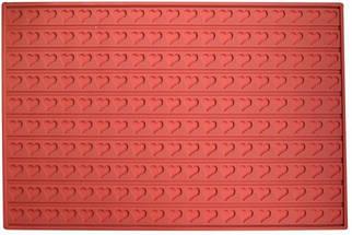 """Коврик для заливания шоколада """"Сердечки"""" 600*400 мм Empire М-8418"""