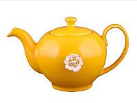 Заварочный чайник оранжевый на 600мл Е-декор 470-156