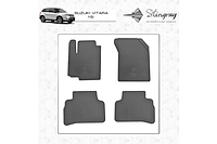 Резиновые коврики (4 шт, Stingray Premium) - Suzuki Vitara 2015+ гг.