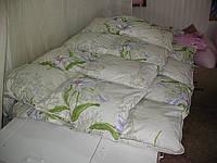 Чистка пухового одеяла