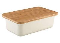 Хлебница с крышкой-разделочной доской Granchio VZ-88561