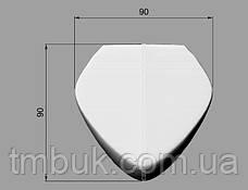 Изготовление резных гнутых ножек на ЧПУ. Для шкафов, тумб, комодов, деревянной и мягкой мебели. 150 мм, фото 3