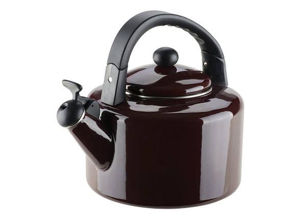 Эмалированный чайник со свистком Allegro Melanzana на 2,5 л Granchio VZ-88631, фото 2
