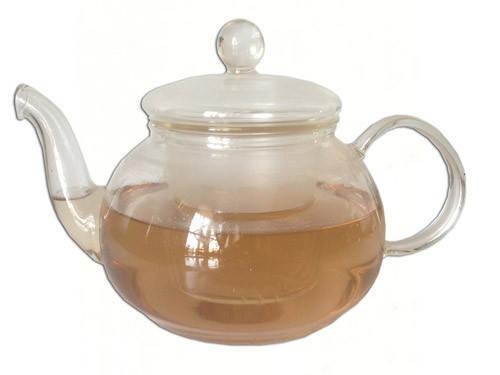 Стеклянный заварочный чайник на 1,2 л F-338, фото 2