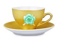 Чайный набор на 2 предмета Чайный цветок Е-декор 494-022