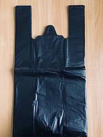 Полиэтиленовый пакет Майка №4 290х550 мм, черный (О), фото 1