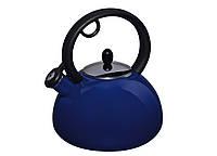 Эмалированный чайник со свистком Capriccio Blu на 2,5 л Granchio VZ-88616