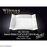 Блюдо квадратное 29*29 см Wilmax WL-991233