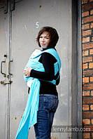 Трикотажный слинг-шарф LENNYLAMB Azure (5 м), фото 1